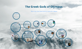 Copy of Greek Gods of Olympus