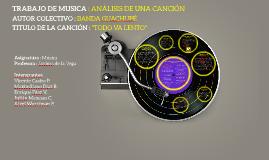 Copy of TRABAJO DE MÚSICA : ANALIZAR UNA CANCIÓN