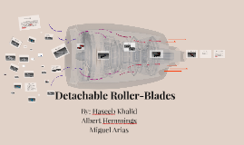 Detachable rollerblades