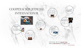 COOPERACIÓN JUDICIAL INTERNACIONAL