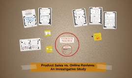 Investigating Online Reviews