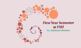 First year semester at FSU