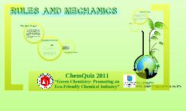 Copy of Chem Quiz 2011 Mechanics