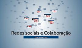 Redes sociais e Colaboração