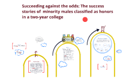 NEU defense: Succeeding against the odds: The trajectory of minority males classified as honors in a two - year college