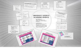 University sports autumn 2017