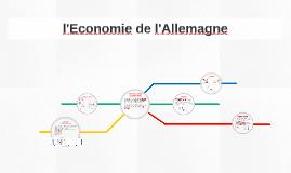 Copy of l'Economie de l'Allemagne