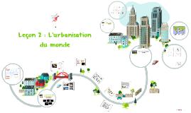 4G2 : L'urbanisation dans le monde