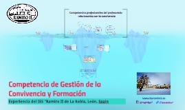 Copy of La Gestión de la Convivencia
