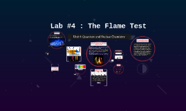 Spectra & Lab#4: The Flame Test