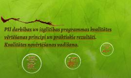 Profesionālās izglītības iestāžu darbības un izglītības prog