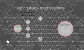PUESTO DE TRABAJO Y TECNICAS DE DIGITACION