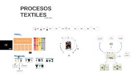 Procesos textiles