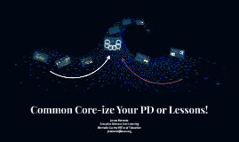 Leadership 3.0 Common Core-ize Your PD!
