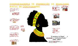 Contagem Mg: Igualdade Racial