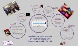 Modelos de Intervención en Teatro Educación y Neurociencia -