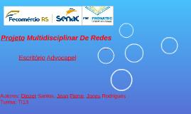 Projeto Multidisciplinar De Redes