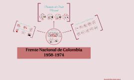 Frente Nacional de Colombia 1958-1974