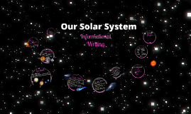 Copy of Our Solar System - Unit Project 4th Grade