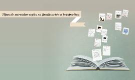 Copy of Tipos de narrador según su focalización