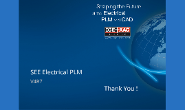 SEE Electrical PLM & MANUFACTURING  V4R7