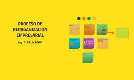 Copy of PROCESO DE REORGANIZACIÓN EMPRESARIAL