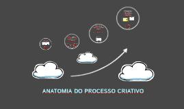 ANATOMIA DO PROCESSO CRIATIVO