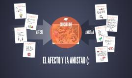 EL AFECTO Y LA AMISTAD (: