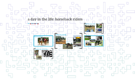 a day in the life: horseback riders