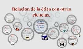 Copy of Relación de la ética con otras ciencias.