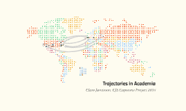 Trajectories in Academia