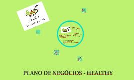 PLANO DE NEGÓCIOS - HEALTHY