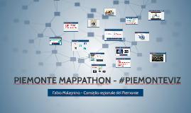 Piemonte Mappathon a UniTo