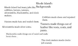 Rhode Island's Jobs