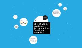 2.2 al 2.6 Entorno económico, Recursos, Análisis Estratégico