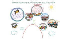 Copy of Copy of Visual Art Portfolio
