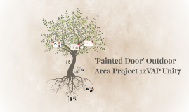 'Painted Door' Outdoor Area Project 12VAP Unit7