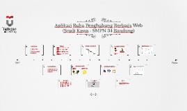 Aplikasi Buku Penghubung Berbasis Web