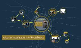 Robotics Applications in Prosthetics