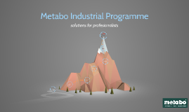 Metabo Industrial Programme - dealer information