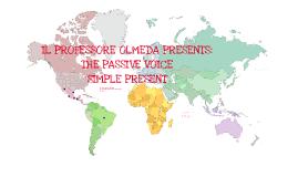The passive voice simple present
