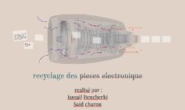 recyclage des pieces electronique