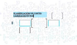 PLANIFICACIÓN DE CORTES CARDÍACOS