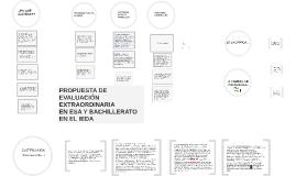 IEDA: Propuesta para la evaluación extraordinaria