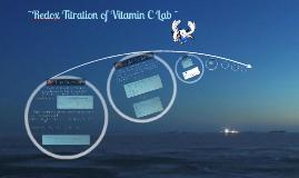 Redox Titration of Vitamin C
