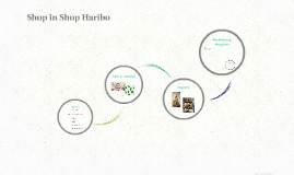 Shop in Shop Haribo