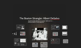 The Boston Strangler: Albert De Salvo