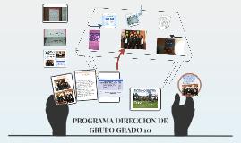 Copy of PROGRAMA DIRECCION DE GRUPO GRADO 10