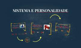 SISTEMA E PERSONALIDADE - Dezembro