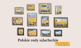 Polskie rody szlacheckie